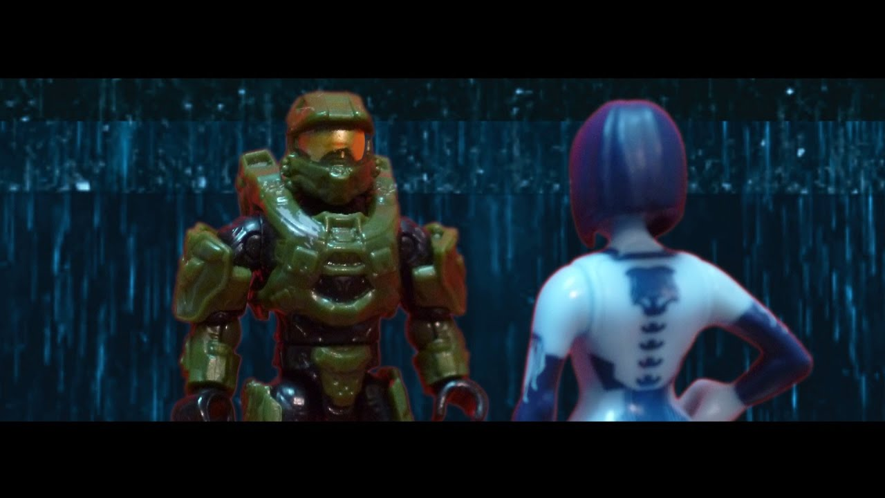 Skyrim Wallpaper Fall Halo 4 Mega Bloks Master Chief Vs Didacta Youtube