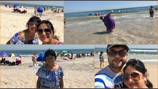 Vlog : Fun Day At Beach With My Family | A Day In My Life | Simple Living Wise Thinking