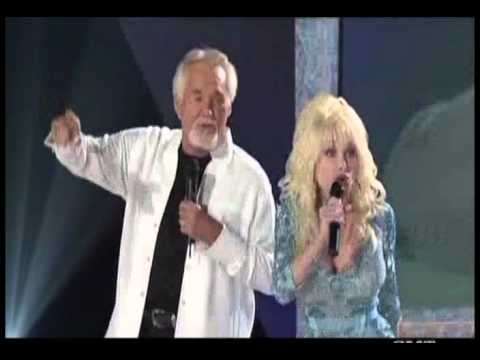 Kenny Rogers Dolly Parton Island In The Streaam 1 Duet 15 Years Later 2005 Youtube