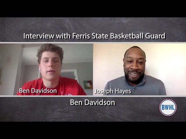 Davidson reflects on hoops season at Ferris State