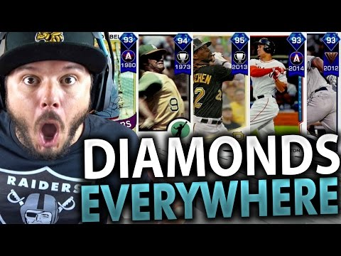 DIAMOND PLAYERS EVERYWHERE!! PACK OPENING - MLB THE SHOW 17 DIAMOND DYNASTY
