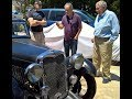 1934 Singer Le Mans RARE.  Alvin saw it 60 years ago and now goes on test drive!