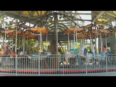 Pier 62 Carousel In Hudson River Park, New York