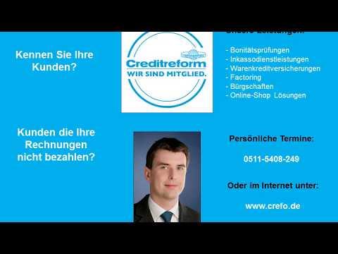 Bonitätsauskünfte, Inkasso & Factoring in Wunstorf - Empfehlung Creditreform Hannover -Steffen Osten