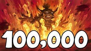 100,000 DAMAGE Explosive Runes [Hearthstone]