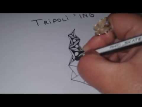 "How to draw TRIPOLI ""ING"""