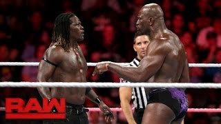 R-Truth vs. Titus O'Neil: Raw, Oct. 10, 2016
