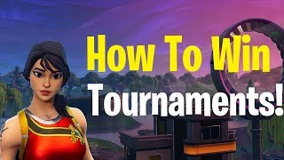 How to Play like Bugha in Fortnite Tournaments! How to Get Better at Fortnite! Fortnite Tips!