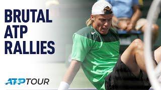 Brutal Tennis Rallies THE BEST OF ATP