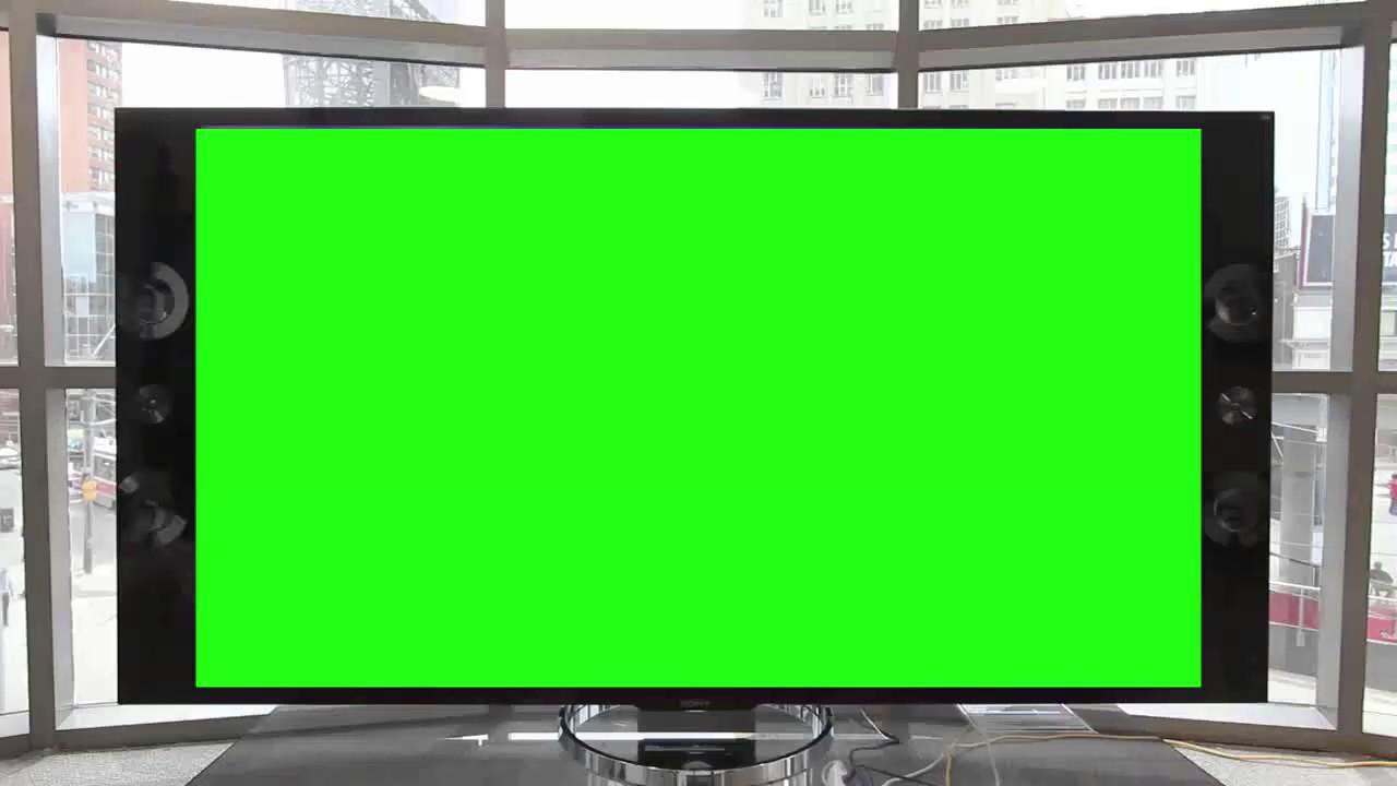 tela de televis u00e3o - real led tv  fundo verde