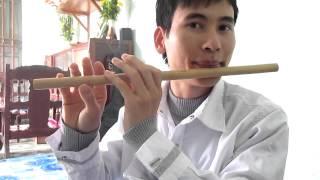 Bài Sợi nhớ sợi thương- hướng dẫn thổi sáo trúc Cao Trí Minh