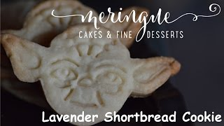 Star Wars Lavender Shortbread Cookie Recipe