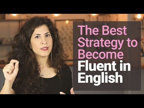 #1 STRATEGY To Becoming FLUENT  [and Why You DON'T NEED To 'sound Like A Native Speaker'😱]