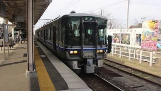 3月4日から運行が始まった北陸線のワンマン列車(字幕付き)