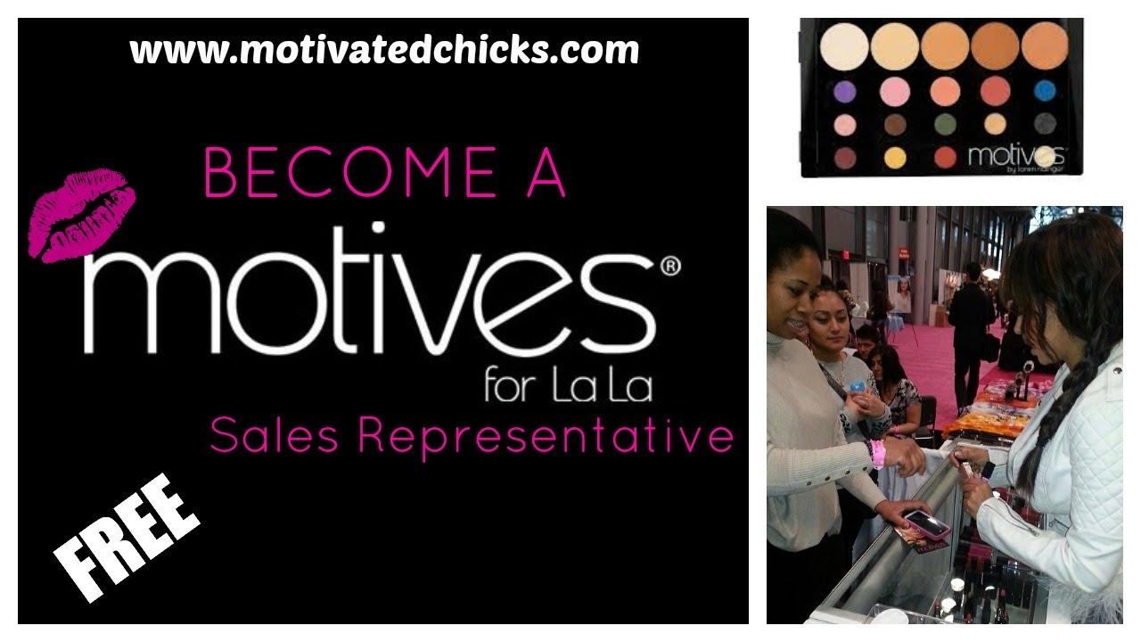Become a Motives Cosmetics Sales Representative {FREE} - YouTube