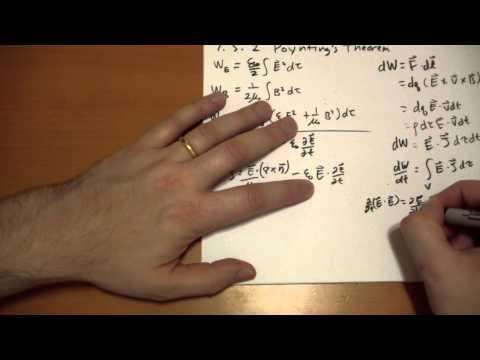 7.5.2 Poynting's Theorem