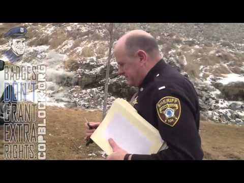Conversation with Cheshire County Sheriff - Raw