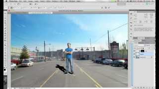 Урок Adobe Photoshop Компьютерной Академии ШАГ. Создание тени