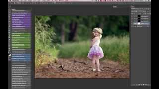 Adding Rich Blur / Bokeh and Deep Color in Photoshop