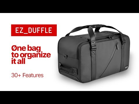 EZ_Duffle by Torba - easy modular ORGANIZATION with ONE BAG