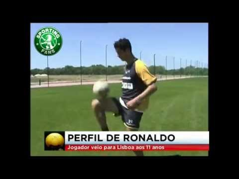 Cristiano Ronaldo ● young boy and goals in Sporting CP ● 1997-2003
