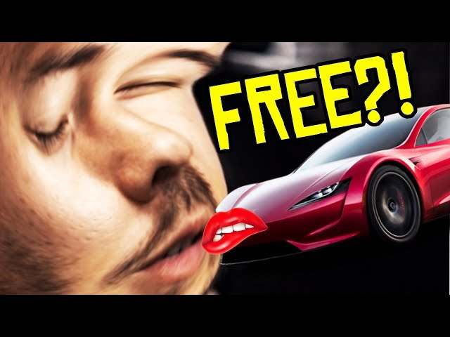 How To Get A FREE Tesla Roadster!!