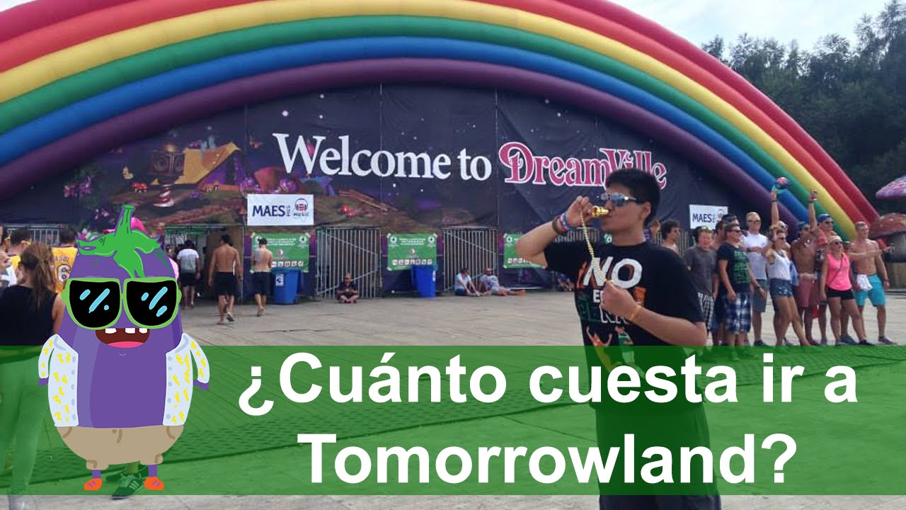 Cu nto cuesta ir a tomorrowland b lgica 2016 visa al mundo youtube - Cuanto puede costar tapizar un sofa ...