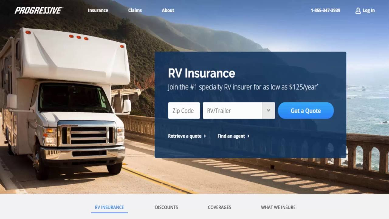 Rv Insurance Quote Recreational Vehicle Rv Insurance Coverage  Youtube