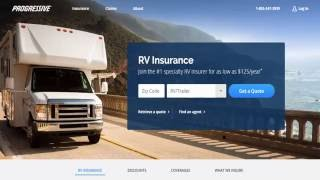 Recreational Vehicle (RV) Insurance Coverage