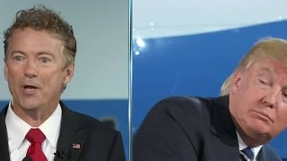 Donald Trump: 'Rand Paul should not be on this stage...'