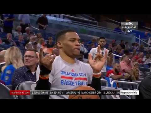 Daily 169: Westbrook gets 38th triple double, Venus beats Kerber in Miami