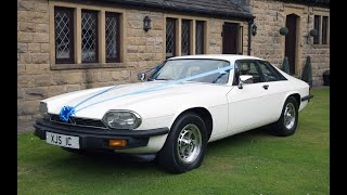 The Jaguar XJS - Cartwright's Wedding Car Hire