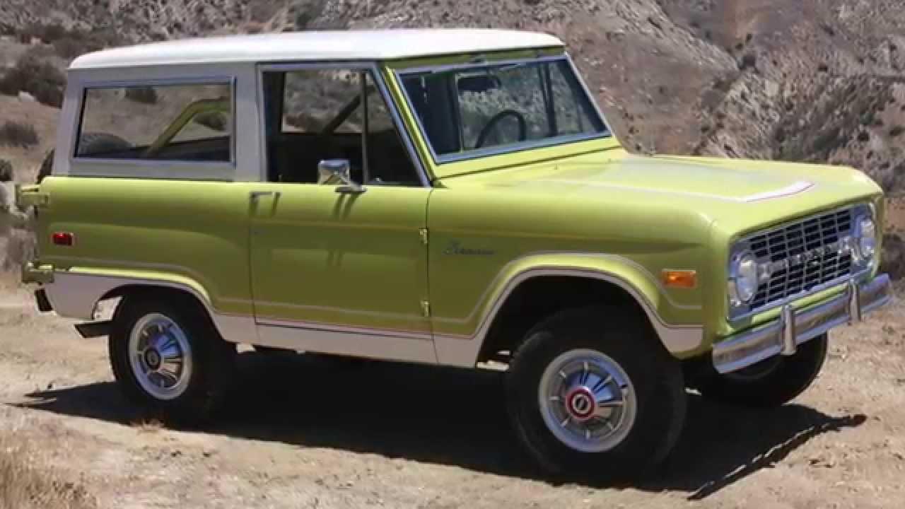 1974 Stock Ford Bronco Ranger - YouTube