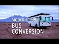 Bus Conversion | School bus turned into modern RV (full-time living)