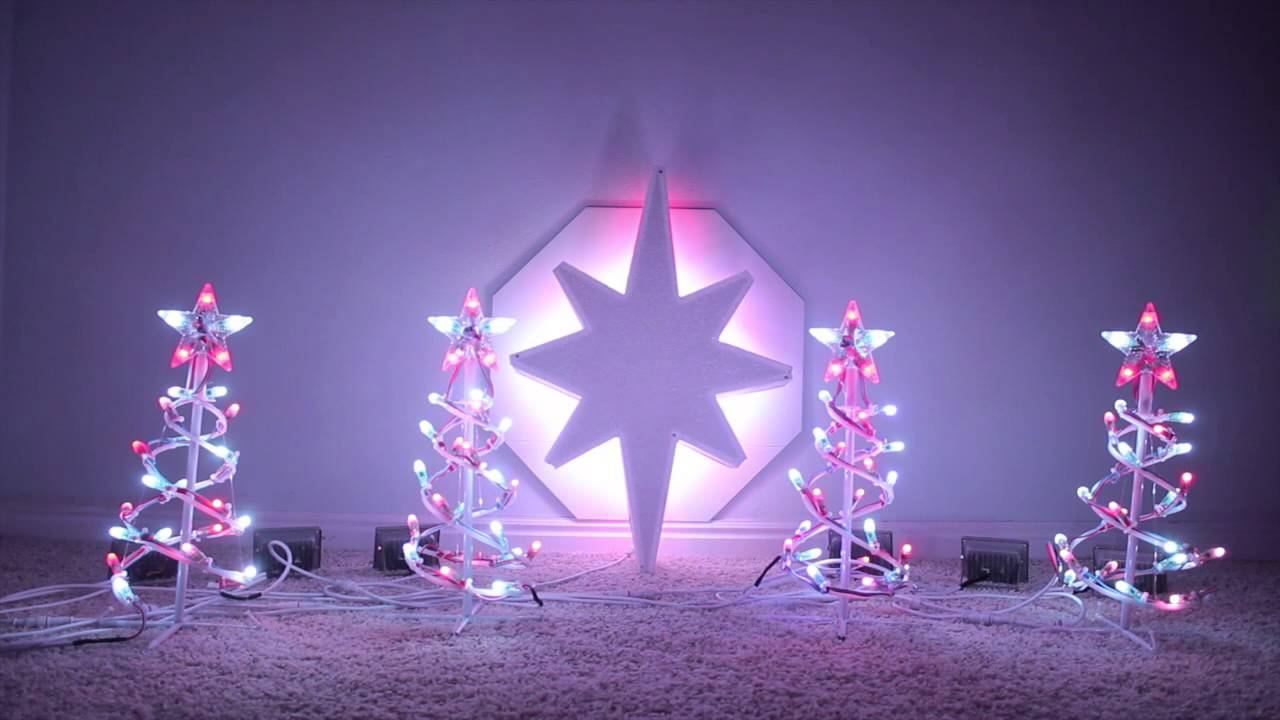DIY LED North Star build instructions - YouTube