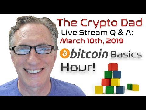 CryptoDad's Live Q. U0026 A. Bitcoin Basics Hour: What Is Bitcoin