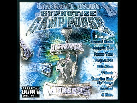 Three six mafia - Hypnotize camp posse (full album)