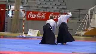 Día Olímpico 2015 (La Eliana). Exhibición del Club de Aikido L