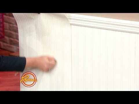 Use Wallpaper to get a DIY Beadboard Effect