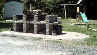 camping chateau de l'hom saumane