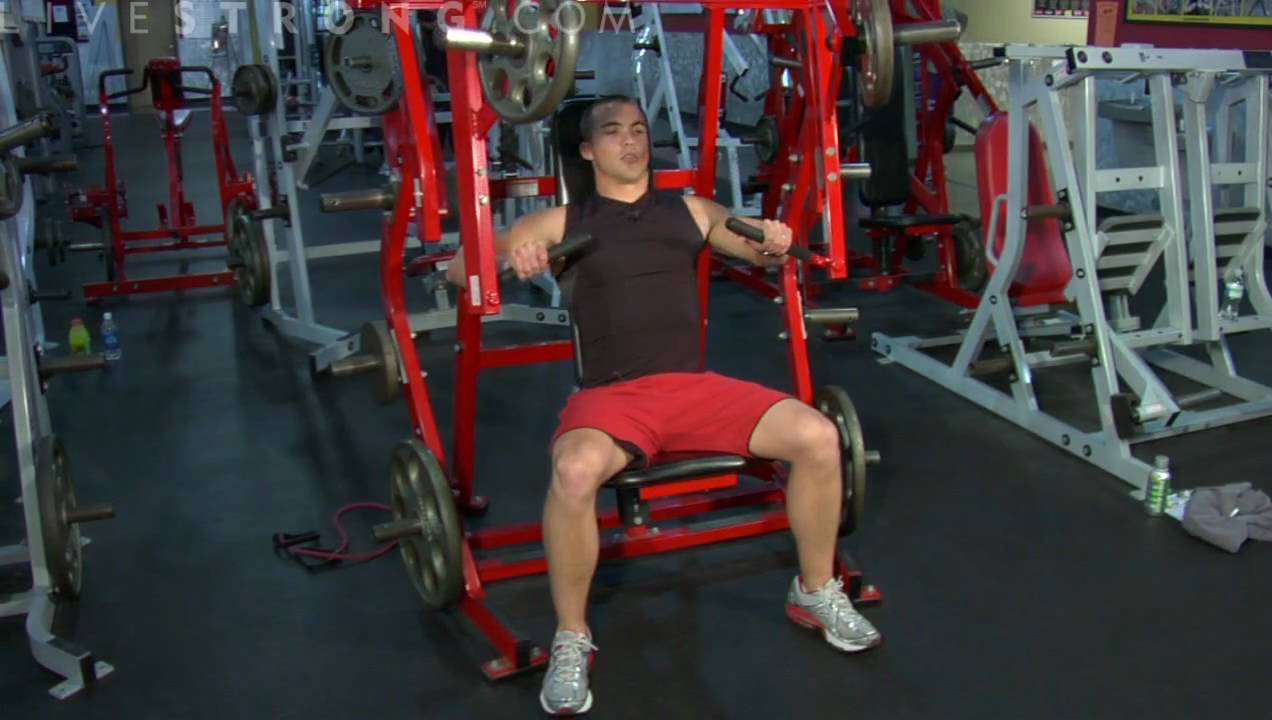 Iso-lateral Dumbbell Incline Bench Press Part - 15: How To Do Iso-Lateral Bench Presses