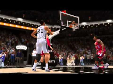 NBA Live 14 (5 on 5 Gameplay)