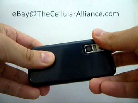 How to put on Samsung SCH-U940 Glyde battery cover