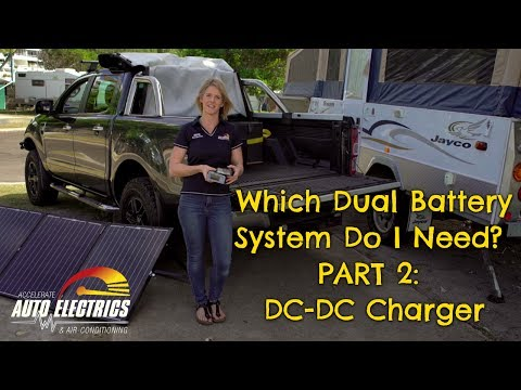 Which Dual Battery System Do I Need? - Part 2: DC-DC Charger - YouTube