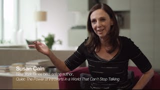 Susan Cain Quiet Spaces by Steelcase