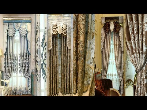Fancy hot designs curtains designs for 2018