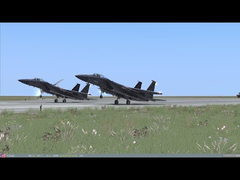DCS World Fighter Sweep