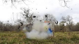 Tannerite VS Tonka Dump Truck