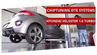 hyundai veloster 1 6 turbo tuning development dynorun on maha dyno dte systems