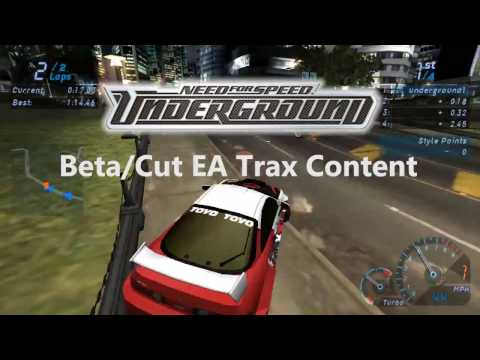 Пасхалки в играх Need for Speed Underground 1-2